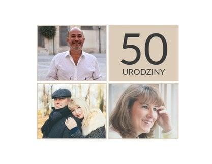 życzenia Na 50 Urodziny Zaskakujące Teksty Cytaty