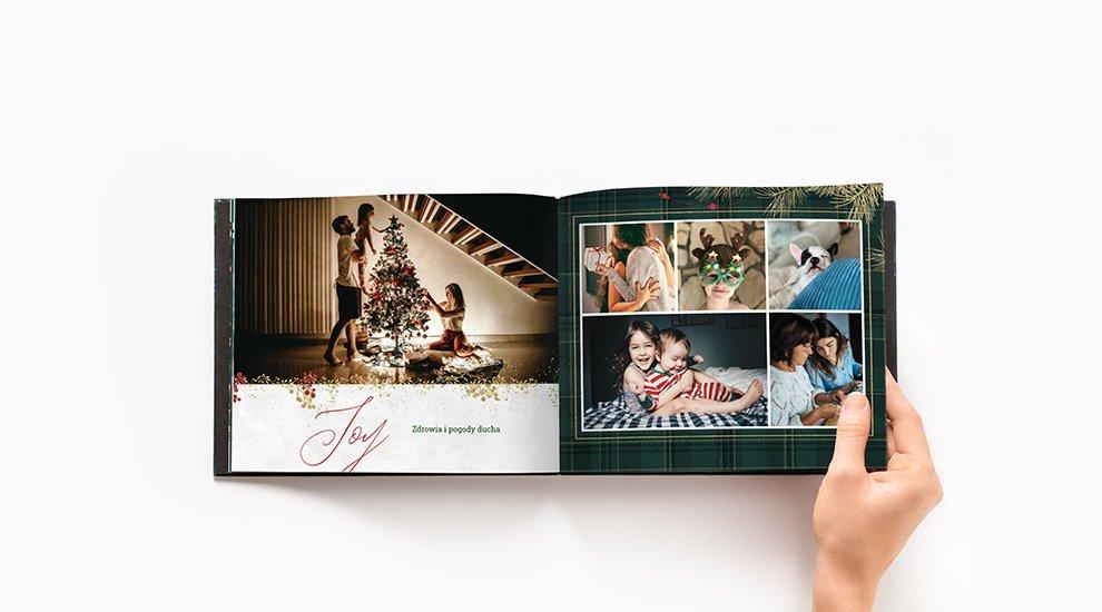 fotoksiążka świąteczna printu