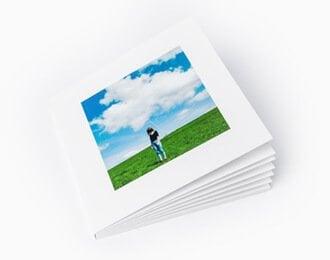 minibook album 15x15 cm