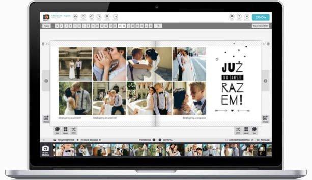 edytor fotoksiążki online