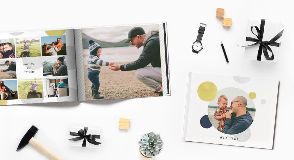 Prezent na Dzień Ojca - fotoksiążka