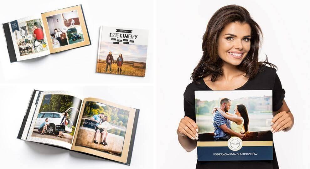 Fotoksiążka jako pomysł na prezent na podziękowania dla rodziców