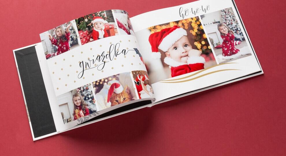 Prezent na Boże Narodzenie dla mamy w formie fotoksiążki