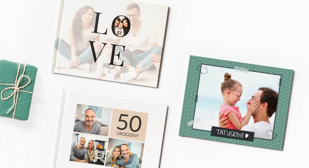 Fotoksiążka jako prezent na 50 urodziny