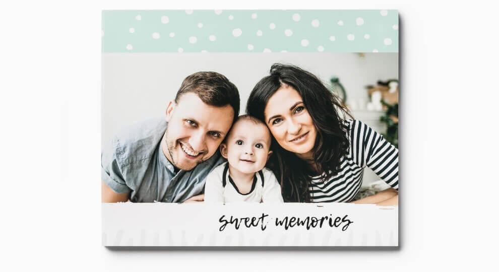 Prezentgwiazdkowy dla męża w formie fotoalbumu z rodzinnymi zdjęciami