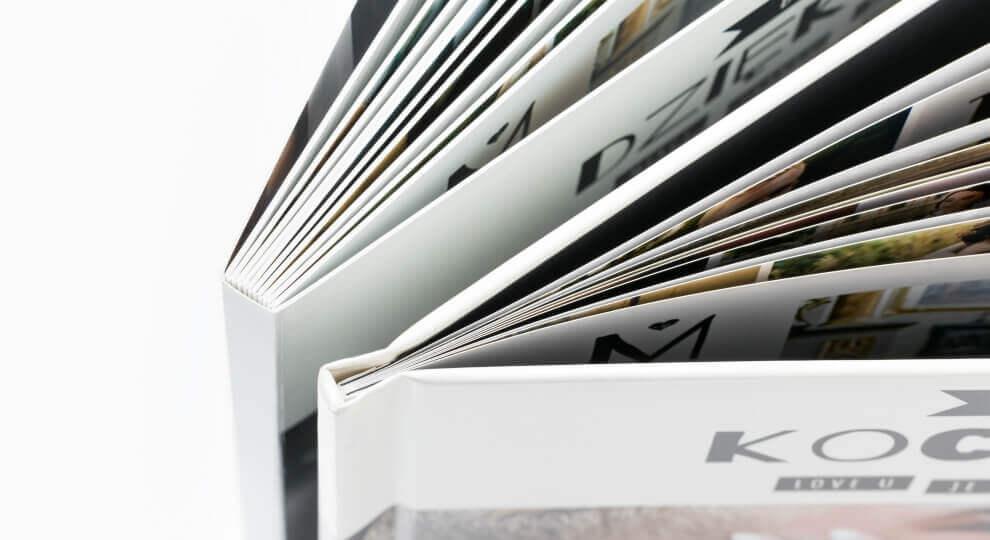 Liczba stron może być odpowiedzią na pytanie co lepsze, fotoksiążka czy fotoalbum