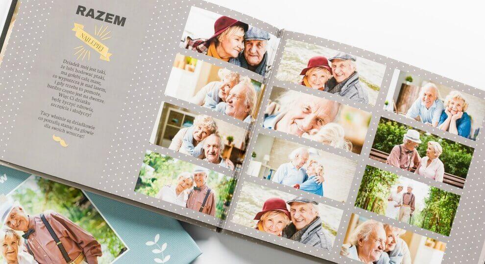 Fotoksiążka jako prezent dla babci na 90 urodziny