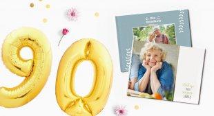 Jaki prezent na 90 urodziny uczci ten niezwykły jubileusz?