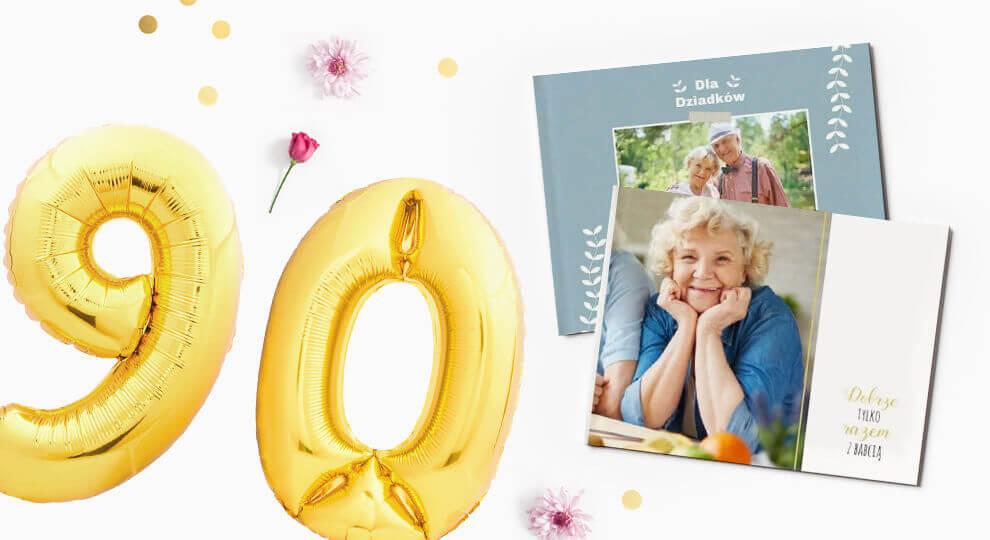Fotoksiążka jako prezent na 90 urodziny dla babci