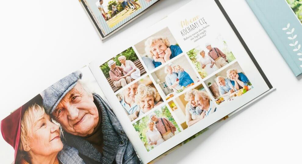 Fotoksiążka jako prezent na 90 urodziny dla dziadka i babci