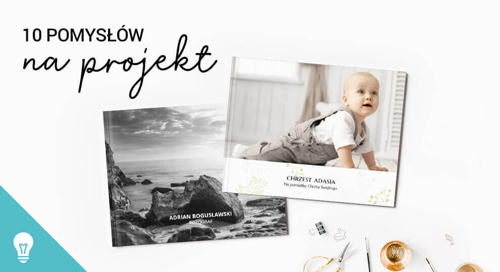 Różne inspiracje projektów fotoksiążki