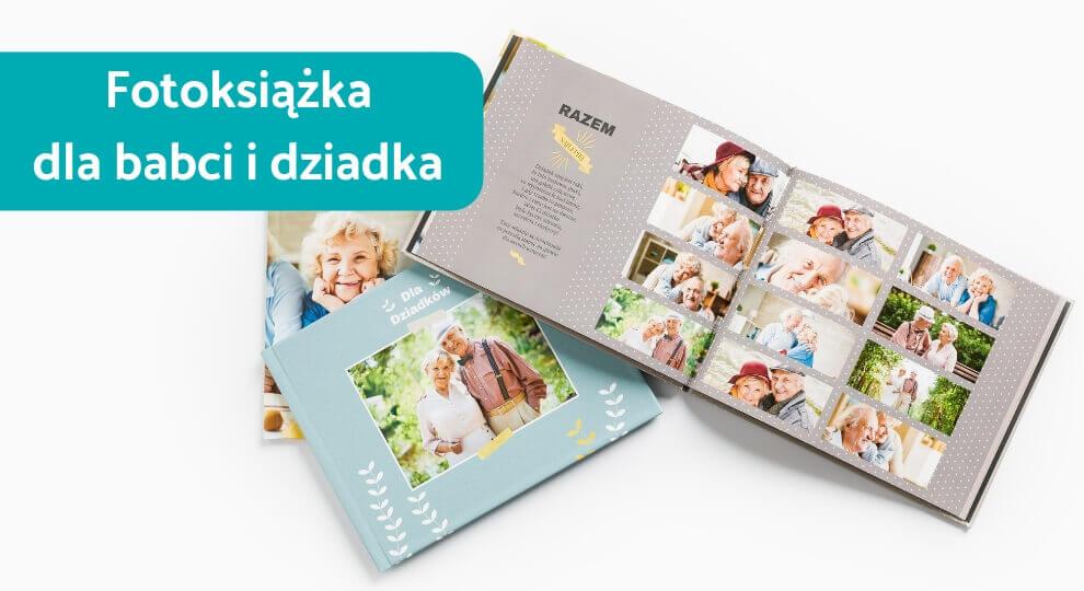 Fotoksiążka dla babci i dziadka jako najlepszy prezent na różne okazje