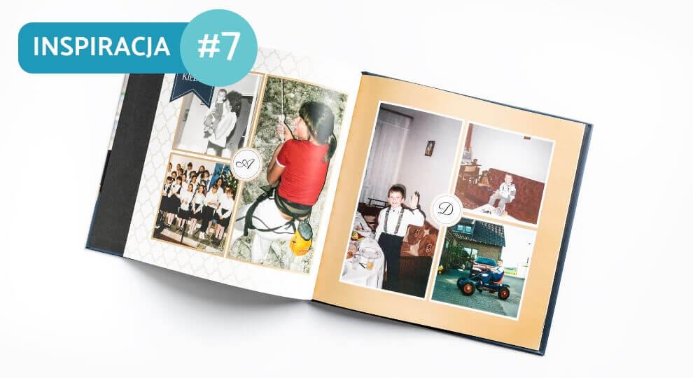 Fotoksiążka ze starych i skanowanych zdjęć
