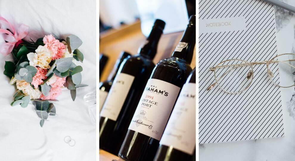 Prezenty dla rodziców na podziękowania: tekst, wino i kwiaty