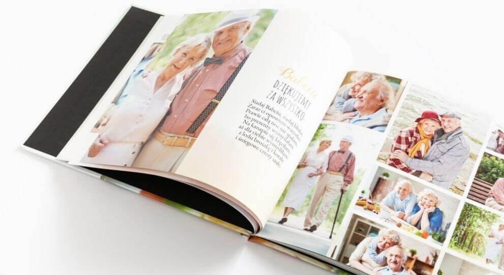 Pomysł co kupić na Dzień Babci - fotoksiążka
