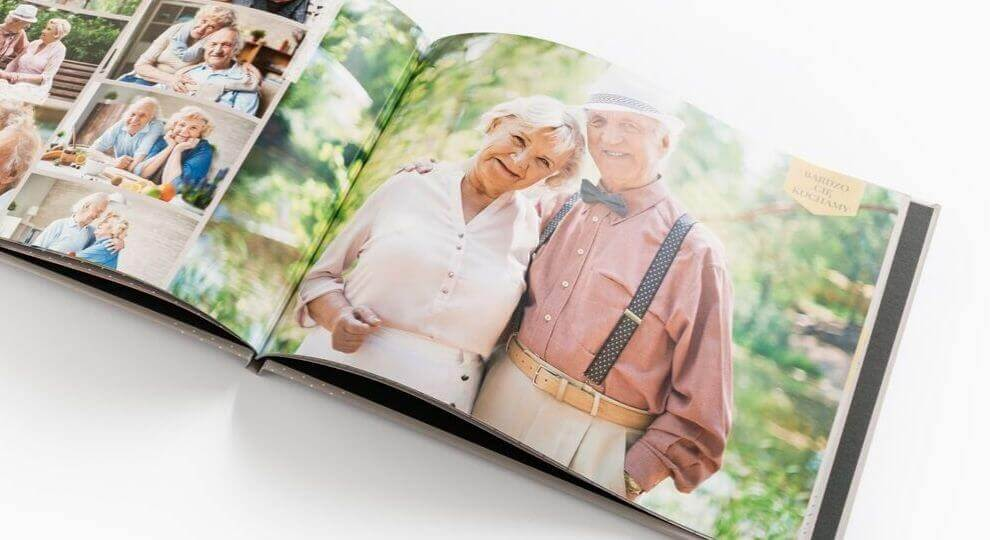 Zdjęcia na Dzień Babci wydrukowane w fotoksiążce