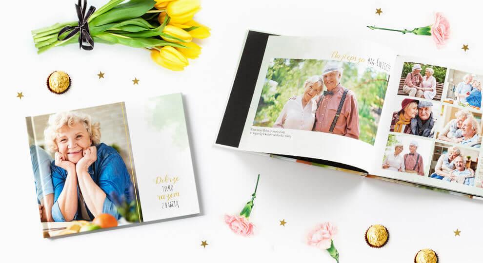 Wyjątkowy prezent na Dzień Babci w postaci fotoksiążki
