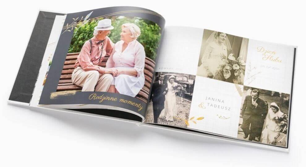 Zdjęcia na Dzień Babci i Dziadka w fotoksiążce