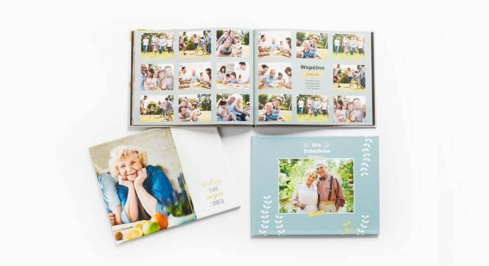 Dzień Babci i Dziadka - prezenty w postaci fotoksiążek