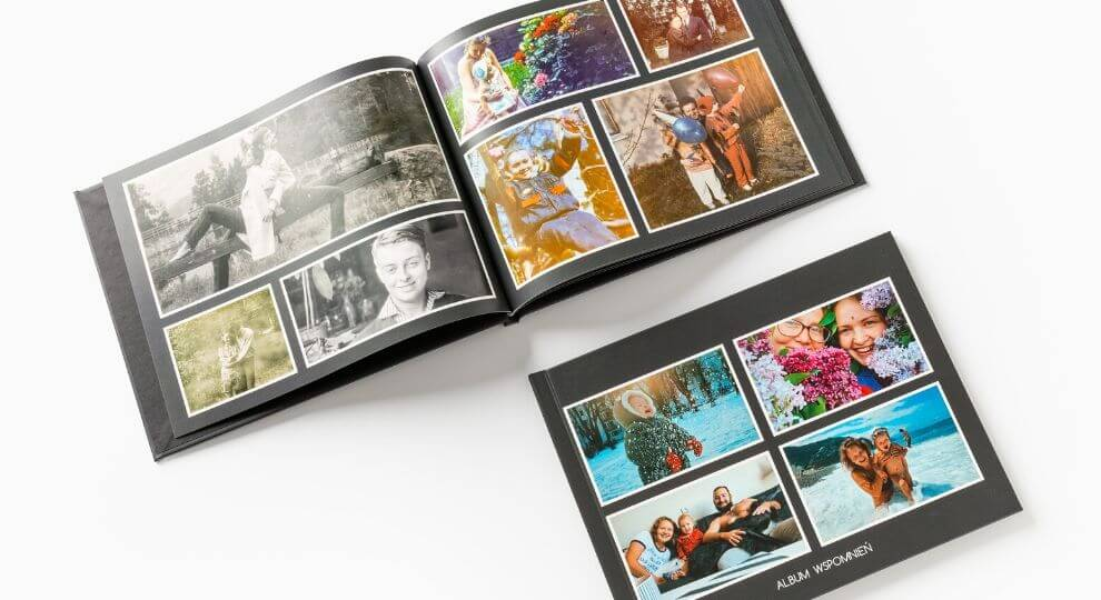 Fotoksiążka ze skanowanych zdjęć jako pomysł na prezent