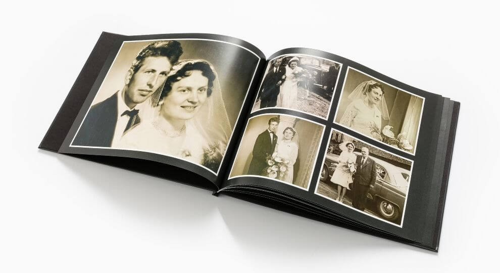 Skanowanie zdjęć i umieszczanie ich w fotoksiążce