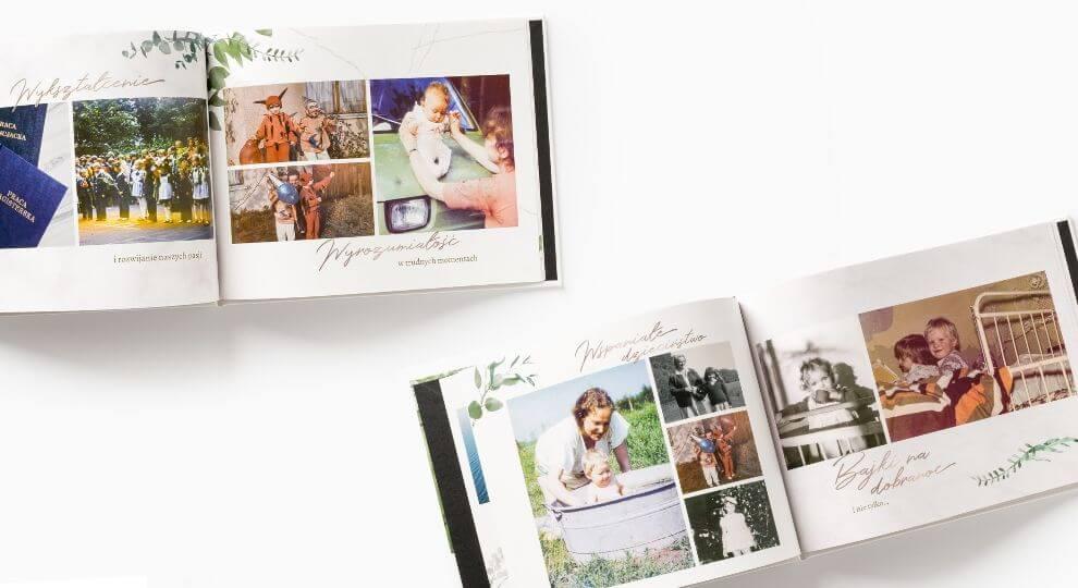 Fotoksiążka jako drzewo genealogiczne i pamiątka dla całej rodziny