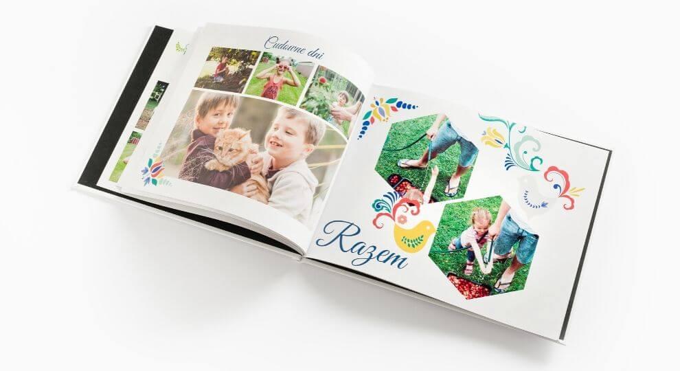 Pomysł na prezent dla Taty - kreatywna fotoksiążka ze zdjęciami