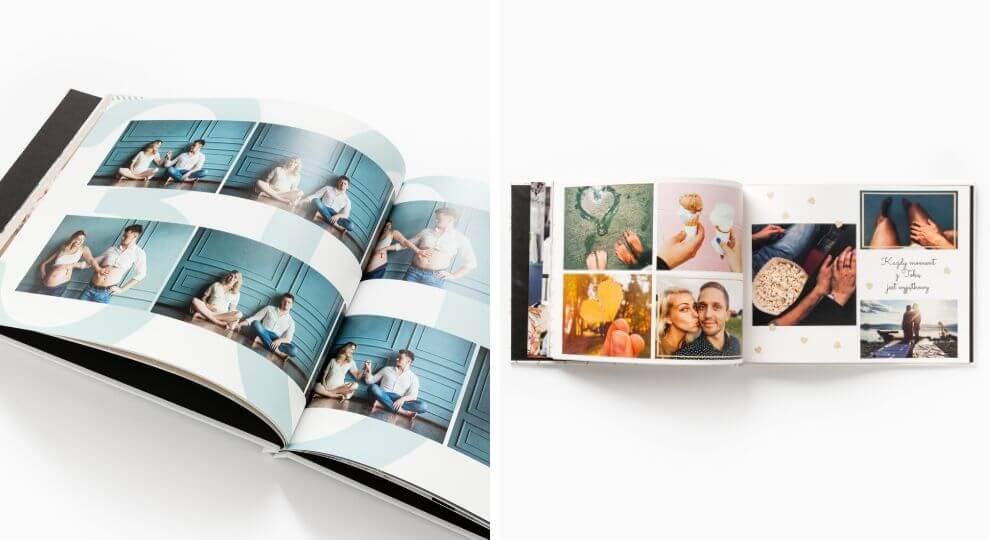 Prezent dla przyszłego Taty - fotoksiążka ze zdjęciami USG i z sesji brzuszkowej