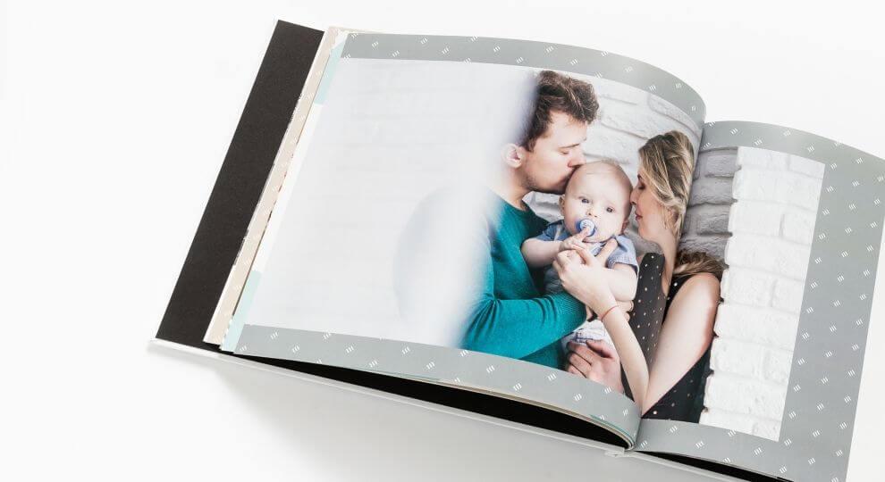 Prezent dla młodego Taty - fotoksiążka ze zdjęciami dziecka