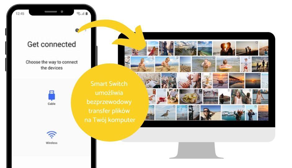 Jak zgrać zdjęcia z telefonu Samsung na komputer