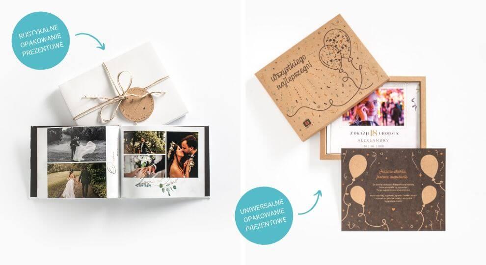 pudełko na fotoksiążkę i fotoalbum Printu