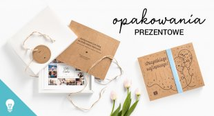 Poznaj opakowania prezentowe dla fotoksiążek i fotoalbumów Printu