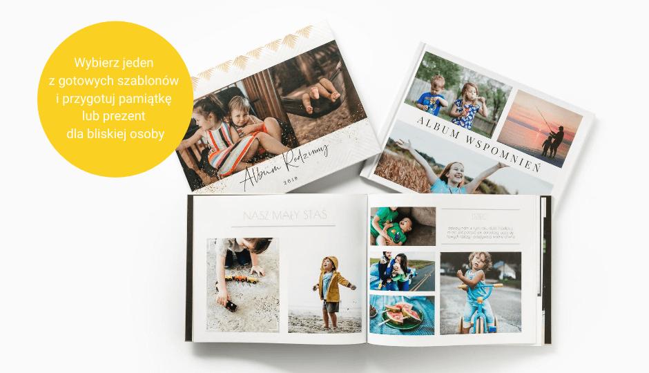 Wywołaj zdjęcia online w formie fotoksiążki
