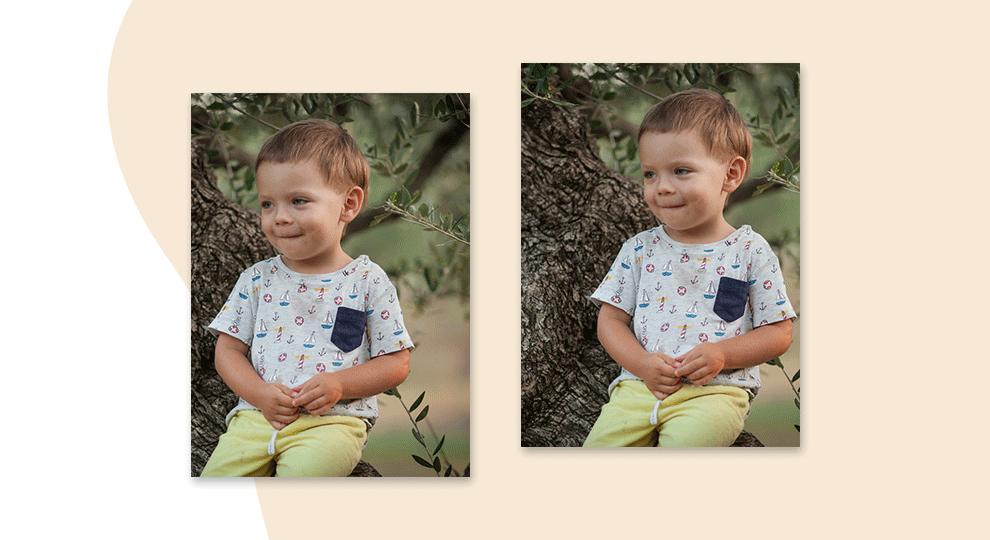 Poprawna kompozycja zdjęcia na przykładzie fotografii dziecka
