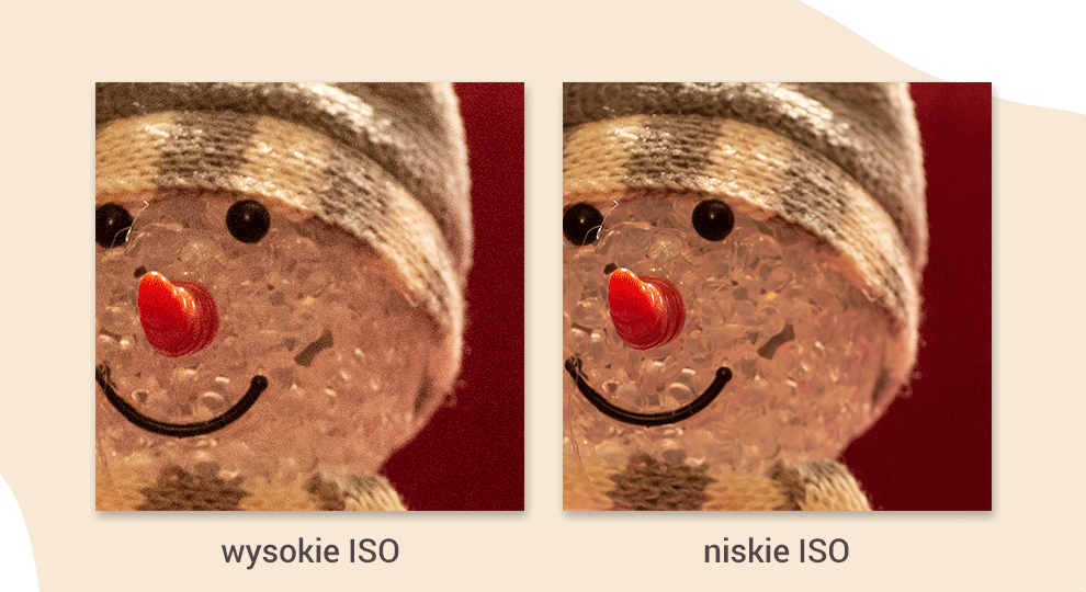 Czułość ISO w fotografii - ilustracja wysokiego i niskiego ISO